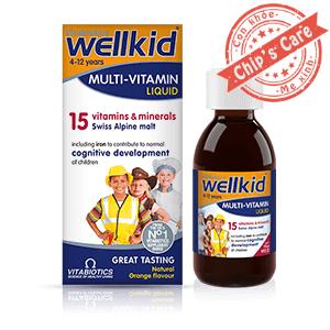 Wellkid Multivitaminvitamin tổng hợp cho trẻ từ 4-12 tuổi