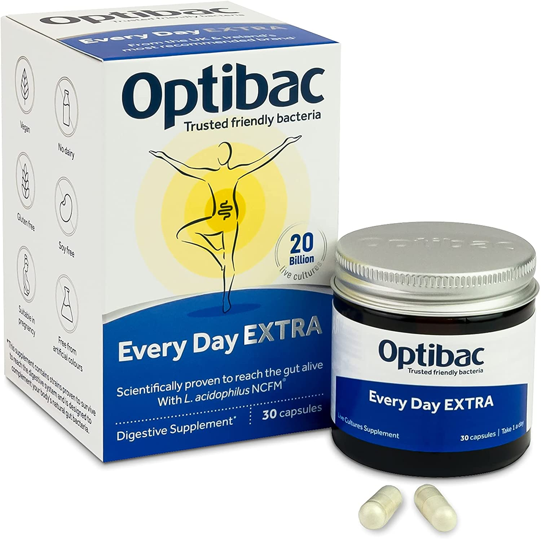 Men vi sinh Optibac Extra Strengh