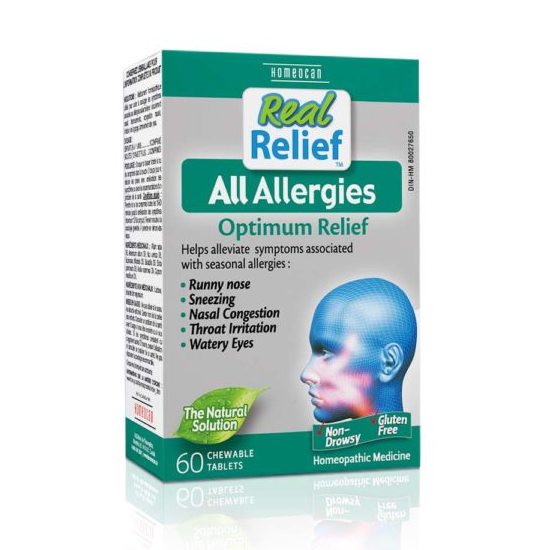 Vi lượng đồng căn Allergies Plus trị viêm mũi, họng thể dị ứng