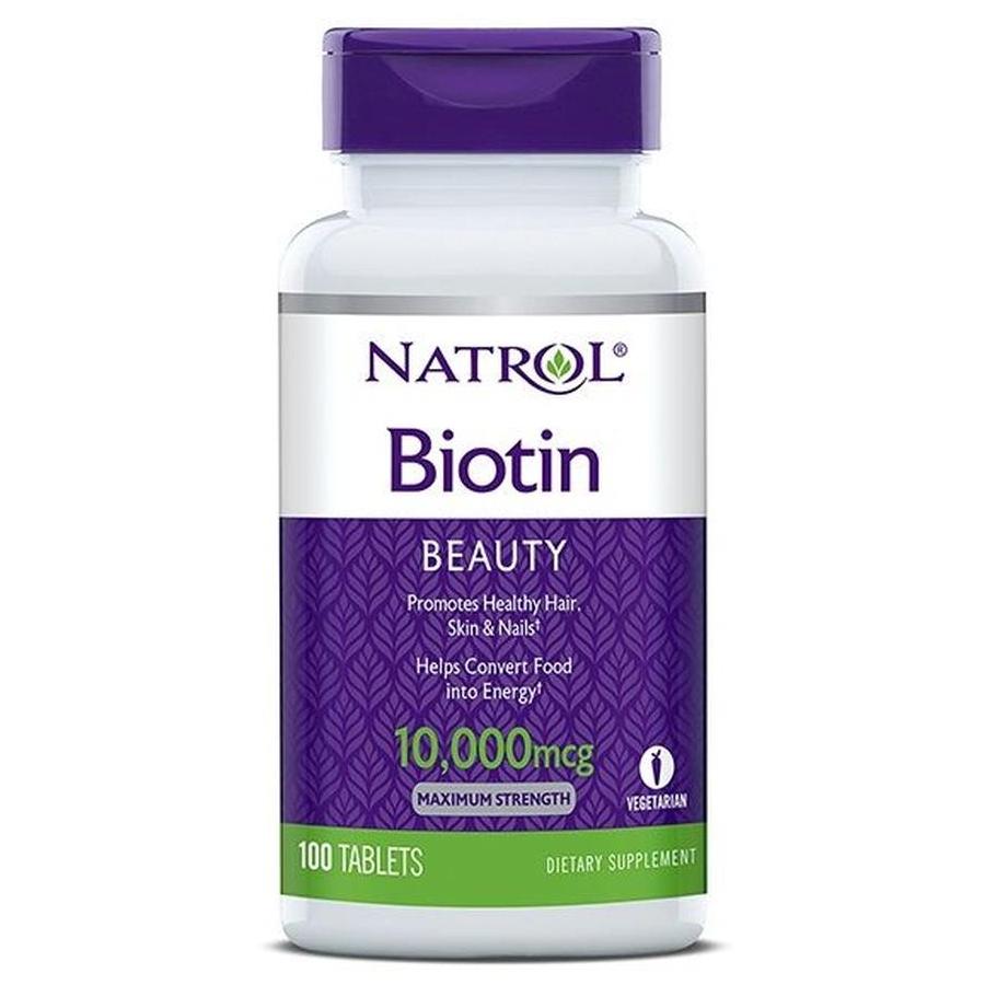 Natrol Biotin Hỗ Trợ Mọc Tóc, Móng Khỏe