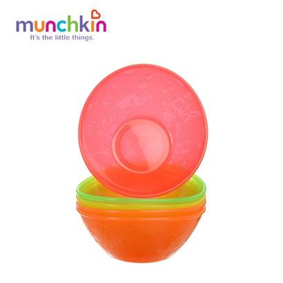 Bộ 5 Bát Nhựa Cao Cấp Munchkin