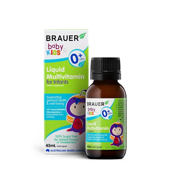Brauer Liquid Multivitamin for infants