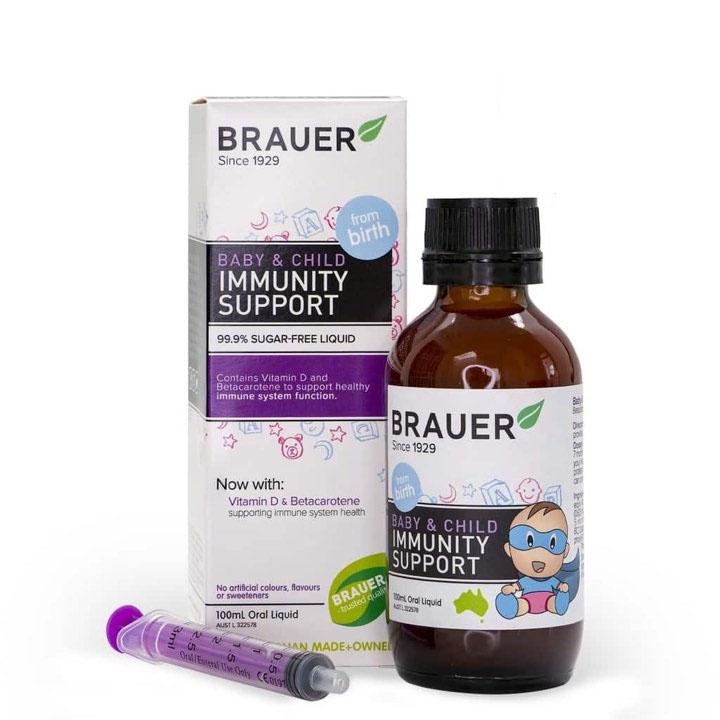 Brauer Baby & Child Immunity tăng đề kháng cho bé từ sơ sinh