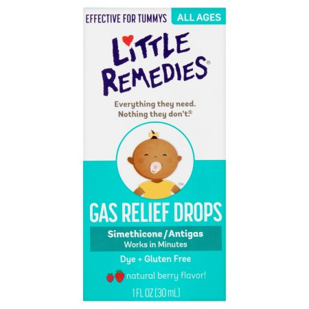 Siro tiêu gas, giảm đầy hơi Little Remedies cho bé từ sơ sinh