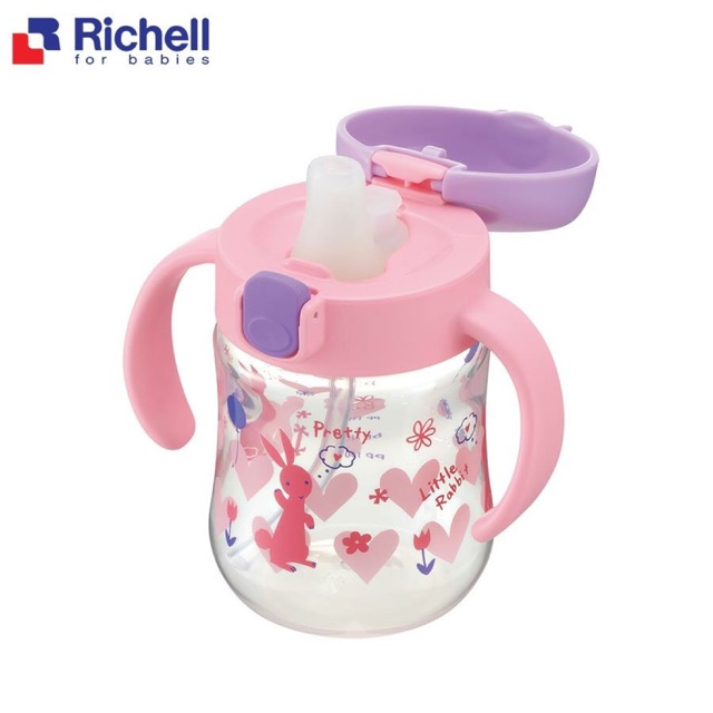 Cốc Tập Uống 2 in 1 Richell