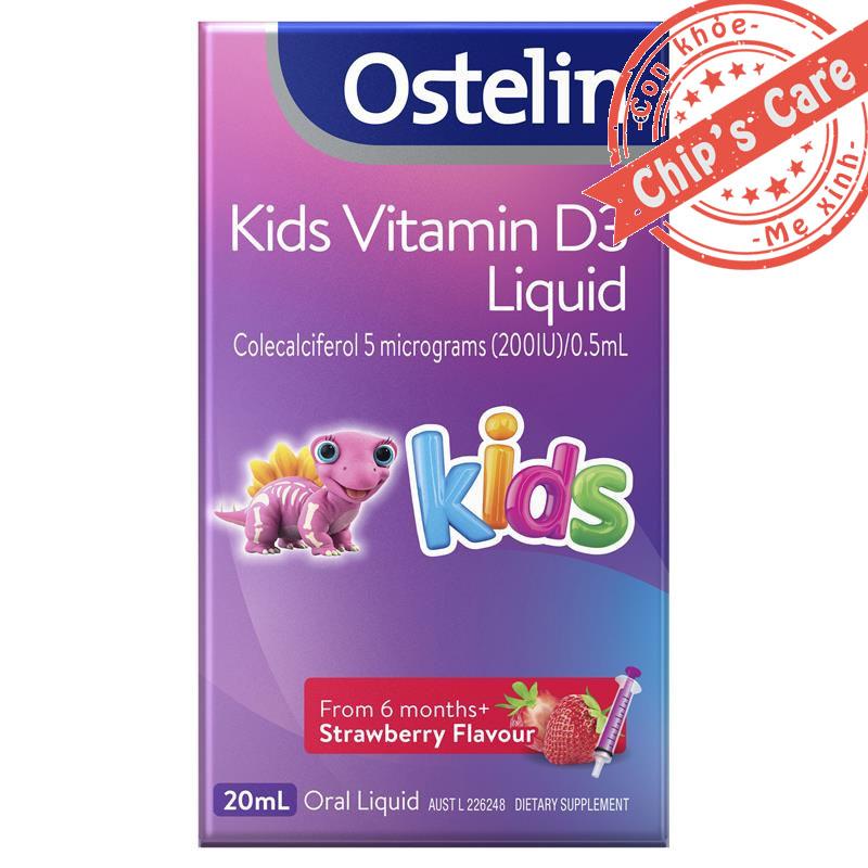 Vitamin D3 Ostelin bổ sung D3 Của Úc