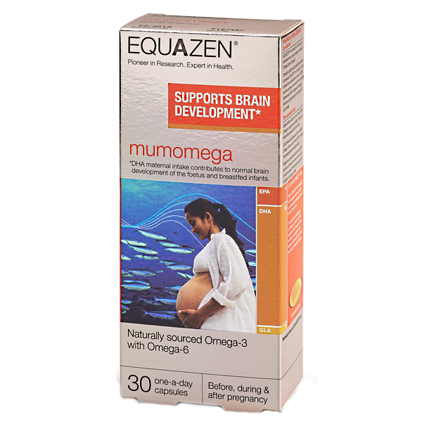 DHA Mumomega Equazen cho phụ nữ mang thai và cho con bú