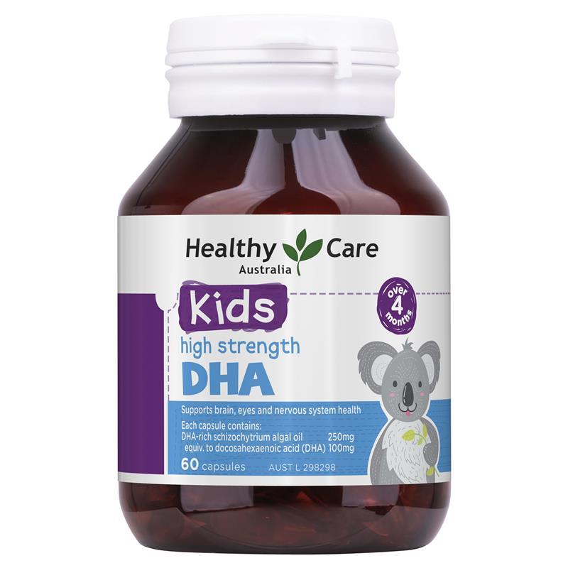 DHA Healthy Care Cho Trẻ Từ 4 Tháng Tuổi