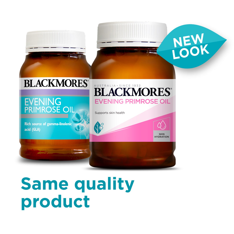 Tinh dầu hoa anh thảo - Blackmores Evening Primrose (190 viên - MẪU MỚI NHẤT 2019)