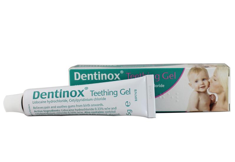 Gel giảm đau mọc răng Dentinox