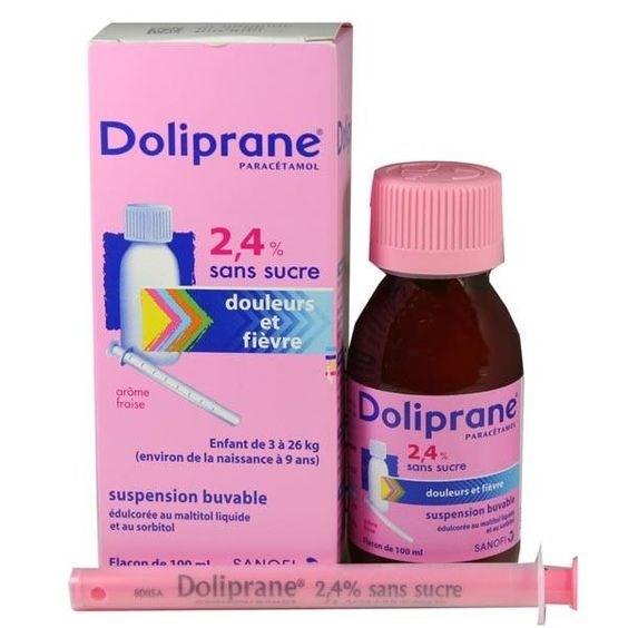 Hạ sốt Doliprane Pháp
