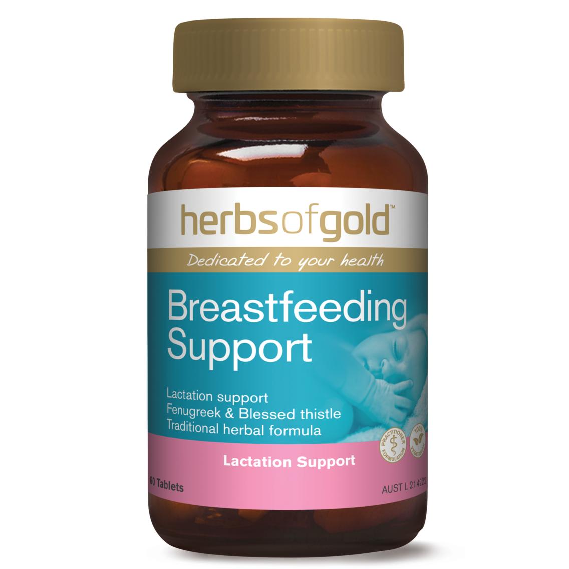 Lợi sữa Herbs of Gold Breastfeeding