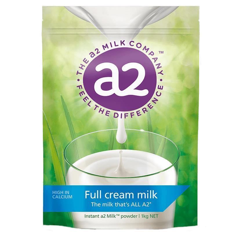 Sữa tươi A2 dạng bột Nguyên Kem của Úc