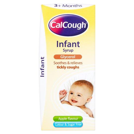 Siro ho CalCough cho trẻ từ 3 tháng - 5 tuổi