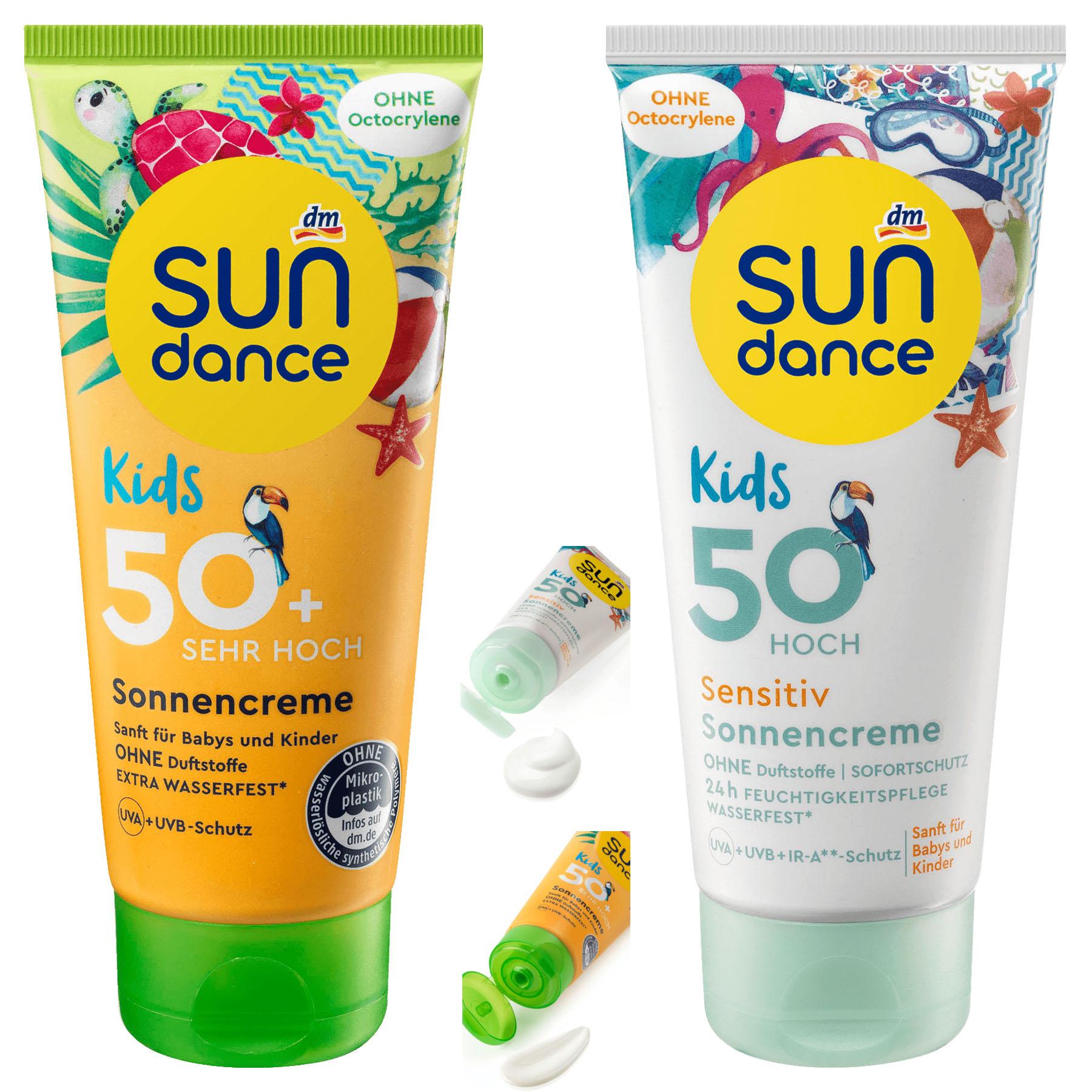 Kem chống nắng cho bé và mẹ Sun Dance Đức