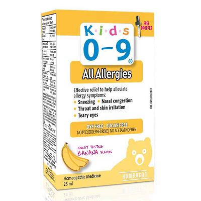 Kids Relief Allergy siro ho, mũi do cơ địa dị ứng thời tiết
