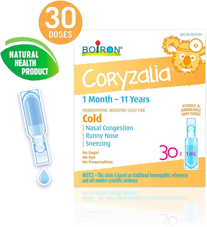 BOIRON Coryzalia Cold - Muối uống vi lượng đồng căncho bé 30ml