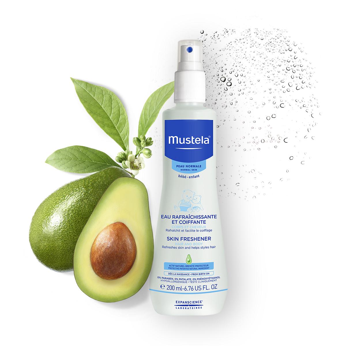 Xịt dưỡng cho da & tóc cho bé Mustela Skin Freshener