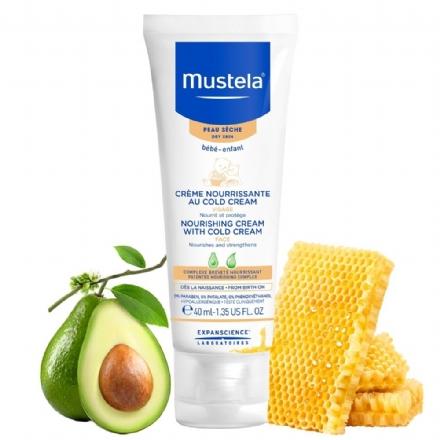 Kem dưỡng ẩm chống nẻ cho bé Mustela Cold Cream