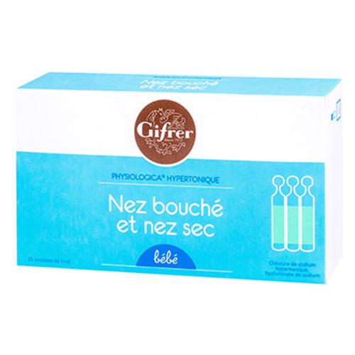 Nước muối kháng viêm Tép Vàng/Xanh Gifrer Pháp