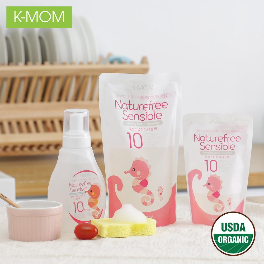 Nước rửa bình hữu cơ K-Mom