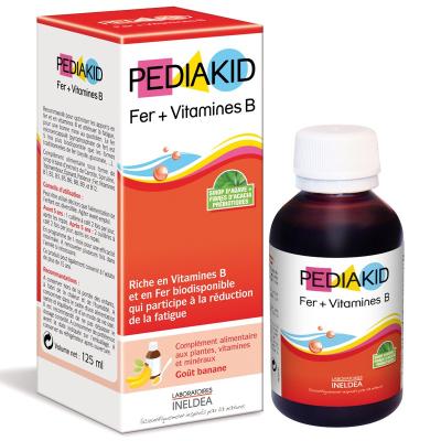 Pediakid Fer bổ sung Sắt và Vitamin B