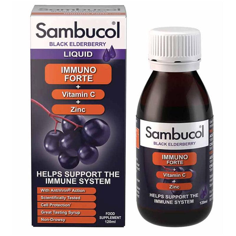 Sambucol tăng đề kháng cho trẻ và người lớn (>3year)