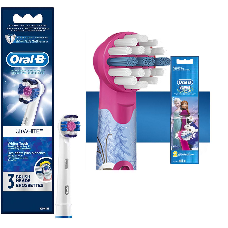 Set đầu bàn chải điện Oral B Người lớn và Trẻ Em