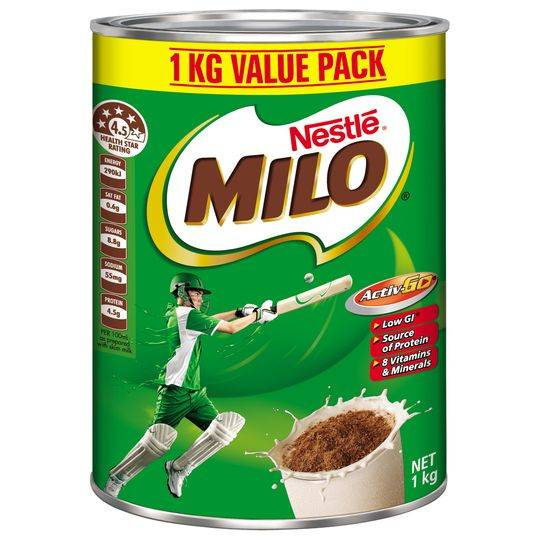 Sữa Milo Nestle nội địa Úc