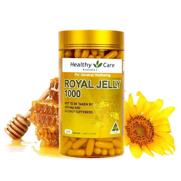 Sữa Ong Chúa Úc Healthy Care Royal Jelly 1000