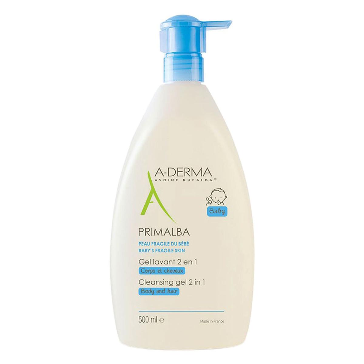 Sữa tắm ADERMA  A- Derma cho bé 500ml