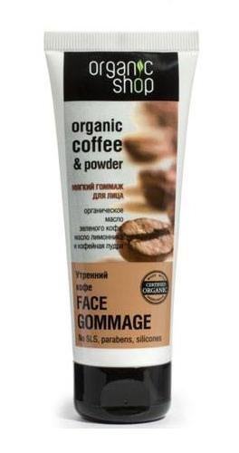 Tẩy da chết da mặt Organic Coffee & Sugar
