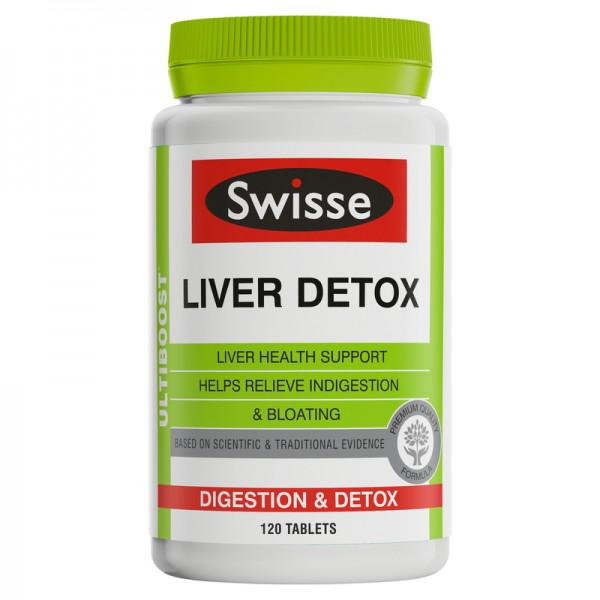 Thải Độc Gan Swisse Liver Detox Úc 120 viên