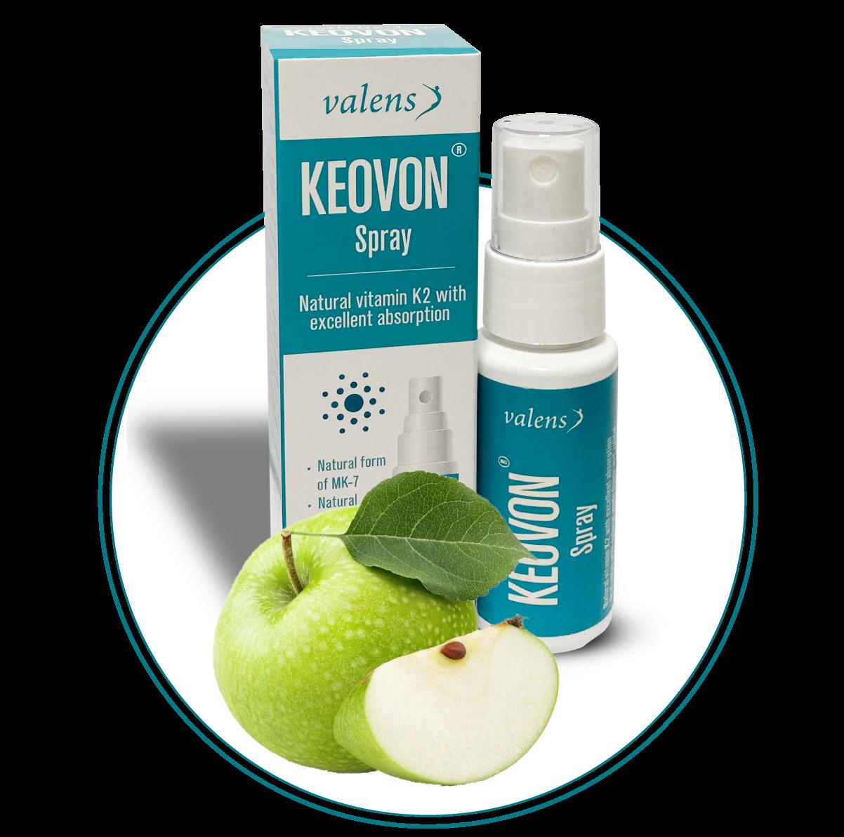 Keovon vitamin K dạng xịt