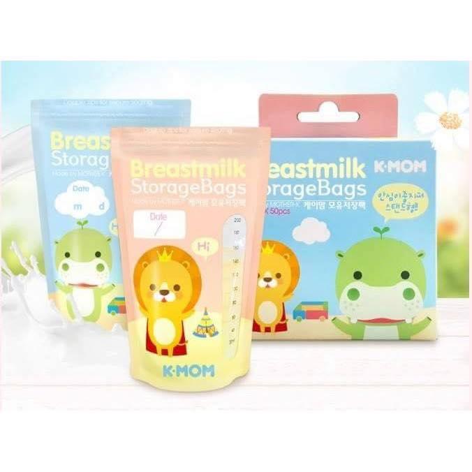 Túi trữ sữa K-Mom (50 pcs)