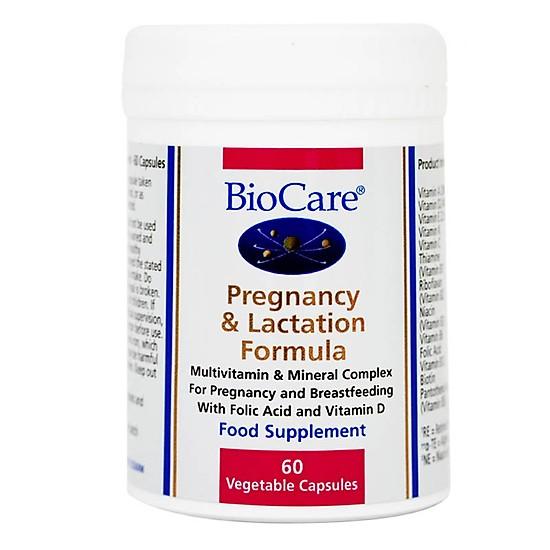 Vitamin Bầu Biocare Pregnancy Lactation Formula