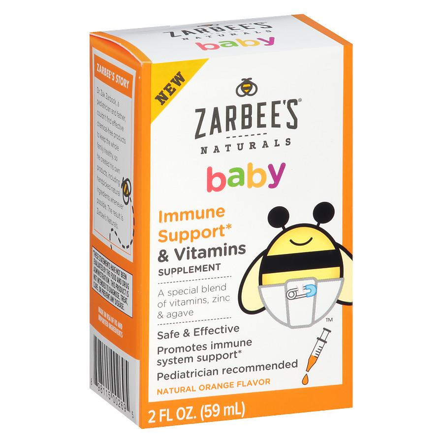 Siro tăng đề kháng Zarbee cho bé