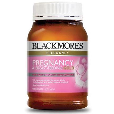 Vitamin Bầu Blackmores Pregnancy Gold 180v