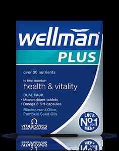 Vitamin Wellman Plus cho nam giới