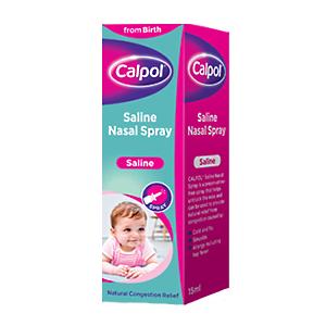 Xịt muối mũi cho trẻ từ sơ sinh Calpol