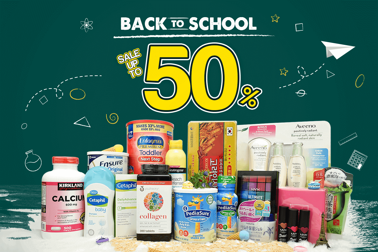 [CTKM] BACK TO SCHOOL - SALE UP 50%