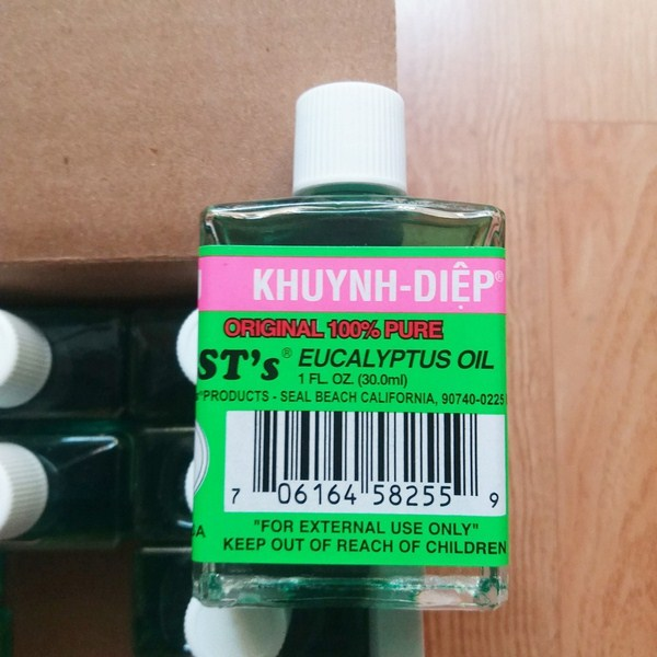 Giới thiệu sản phẩm Dầu Khuynh Diệp OPC Mỹ Original Eucalyptus 30ml