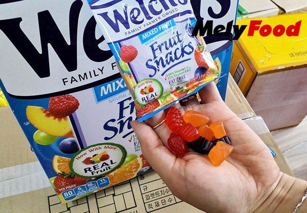 Kẹo Dẻo Trái Cây Mỹ Welch's Fruit Snacks cc shop