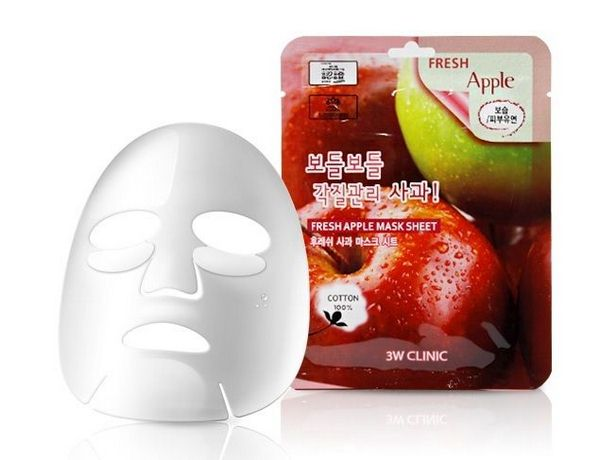 Mặt nạ 3W Clinic Fresh Apple Mask Sheet