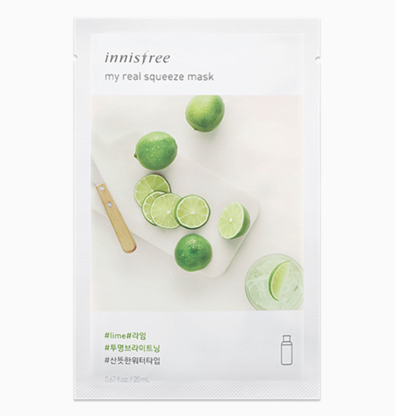 Mặt nạ giấy Innisfree My Real Squeeze Mask Lime
