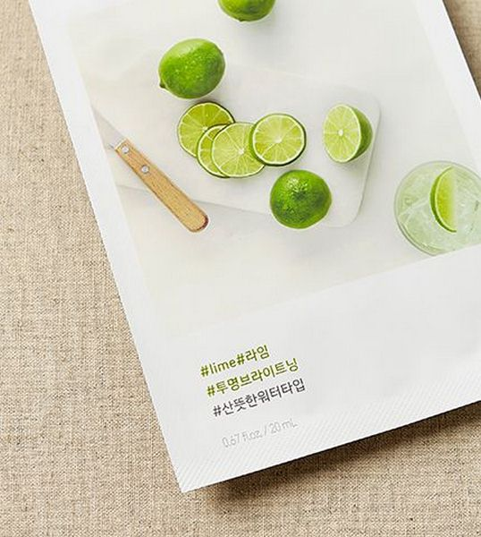 Mặt nạ giấy chiết xuất từ quả chanh Lime Innisfree Mask