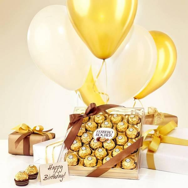 Socola Ferrero Rocher Chocolate Hộp 48 Viên nhập khẩu từ Mỹ