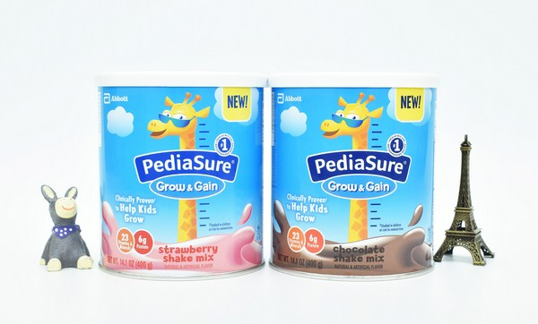 Sữa Bột Mỹ PediaSure Grow And Gain Shake Mix Dâu 400g