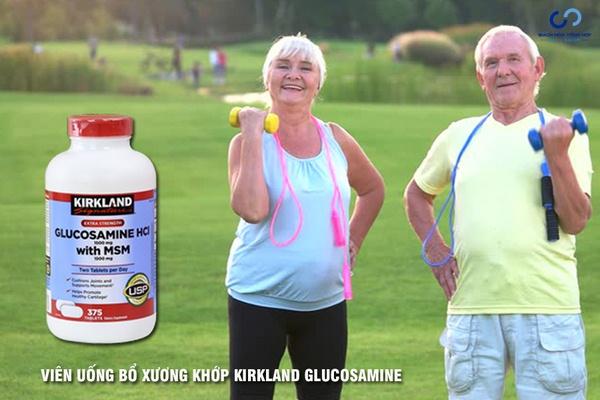 Kết quả hình ảnh cho kirkland Glucosamine Hcl 1500Mg