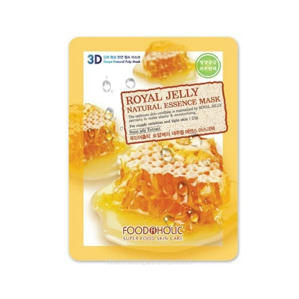MẶT NẠ 3D FOODAHOLIC ROYAL JELLY NATURAL ESSENCE MASK